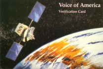 QSL Voice of America, 1980